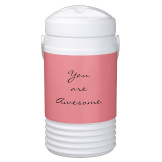 """""""You are Awesome."""" Drinks Cooler"""