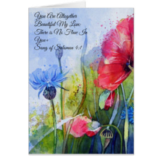You Are Beautiful-greeting card