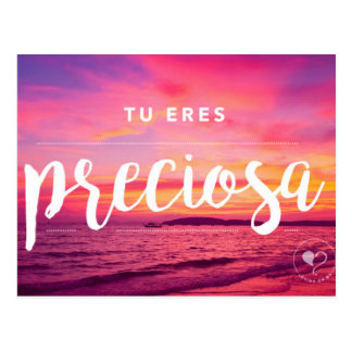 You are Beautiful (Spanish) Encouragement Postcard