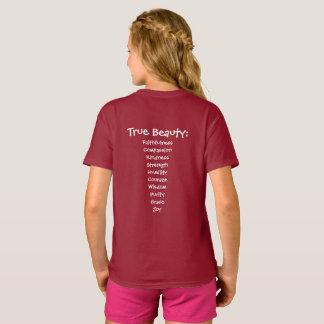You are Beautiful True Beauty Girls Tshirt