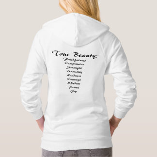 You are Beautiful. True Beauty. Women's Hoodie