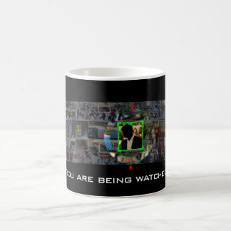 You Are Being Watched: Person of Interest Coffee Mug