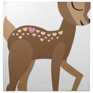 YOU are DEER to ME Napkin