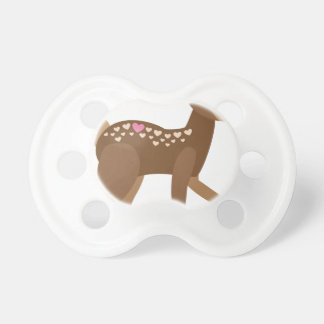 YOU are DEER to ME Pacifier
