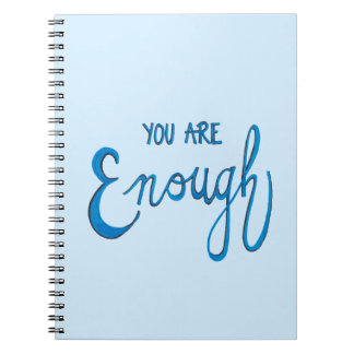 You Are Enough Notebook