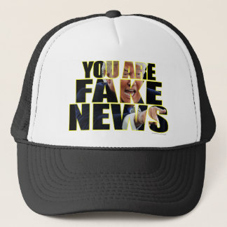 You Are Fake News Press Conference Trucker Hat