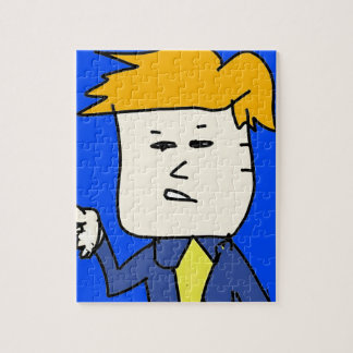 you are fired cartoon boy jigsaw puzzle
