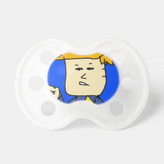 you are fired cartoon boy pacifier