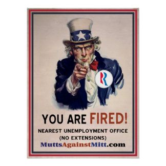 You Are Fired! Print
