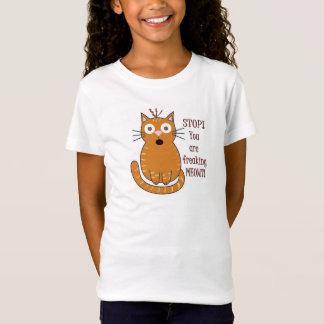 You Are Freaking Meowt!  Animal Pun Tee