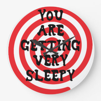 You Are Getting Very Sleepy Clock