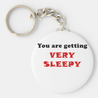 You are Getting Very Sleepy Keychain