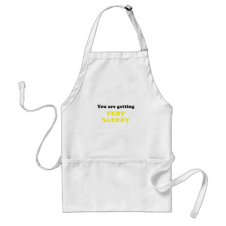 You are getting very Sleepy Standard Apron