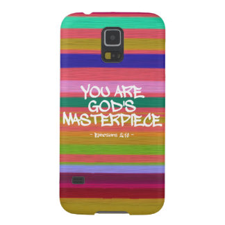You Are God's Masterpiece Ephesians Quote Galaxy S5 Cases