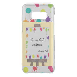 """You are God's Masterpiece"" painted easel colour Uncommon Samsung Galaxy S8 Case"