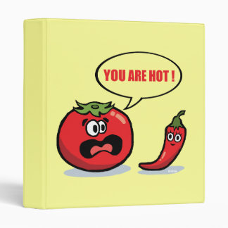 You are hot ! 3 ring binder