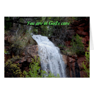 You are in God's care Card