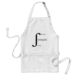 You Are Integral To Me Standard Apron