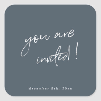 You are Invited Holiday Sticker