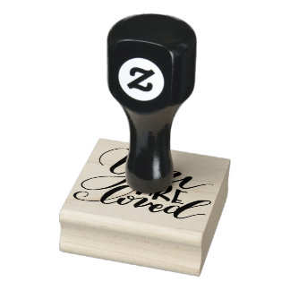 You Are Loved 2x2 Rubber Stamp