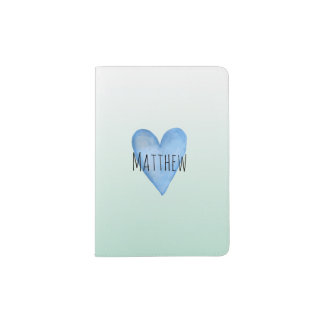 You Are Loved Customisable Boys Passport Holder