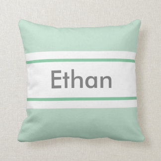 You are Loved (Green) Pillow Custom Name & Meaning