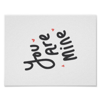 You Are Mine Poster