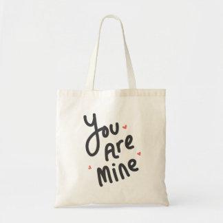 You Are Mine Tote Bag
