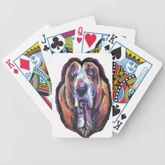 You Are My Basset Hound Heart Bicycle Playing Cards