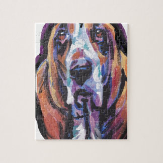 You Are My Basset Hound Heart Jigsaw Puzzle