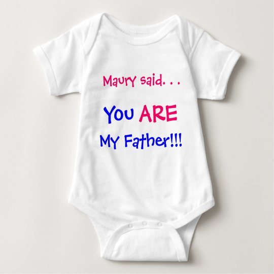 You are my father baby bodysuit