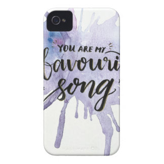 You are my favourite song Case-Mate iPhone 4 case