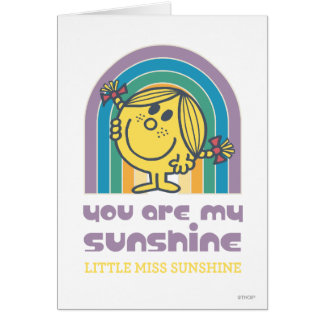 You Are My Sunshine Arch Greeting Card