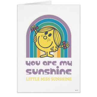 You Are My Sunshine Arch Note Card