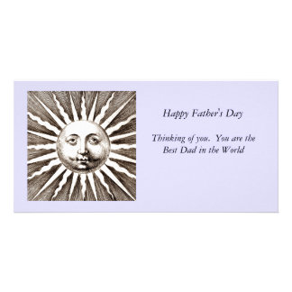 You Are My Sunshine Dad Photo Greeting Card