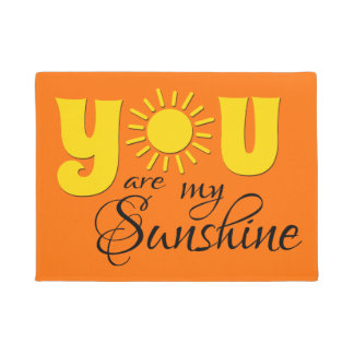 You are my sunshine doormat