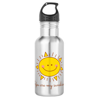 You Are My Sunshine Happy Cute Smiley Sunny Day 532 Ml Water Bottle