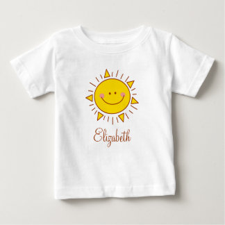 You Are My Sunshine Happy Cute Smiley Sunny Day Baby T-Shirt
