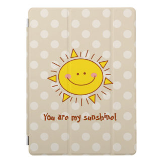 You Are My Sunshine Happy Cute Smiley Sunny Day iPad Pro Cover