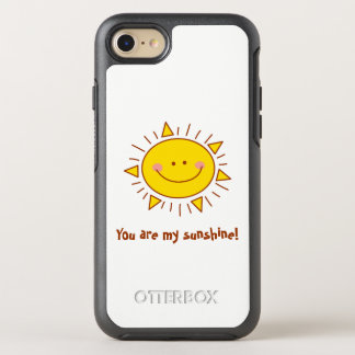 You Are My Sunshine Happy Cute Smiley Sunny Day OtterBox Symmetry iPhone 8/7 Case