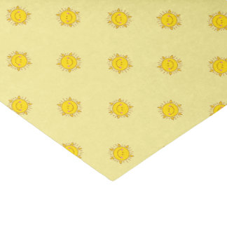 You Are My Sunshine Happy Cute Smiley Sunny Day Tissue Paper