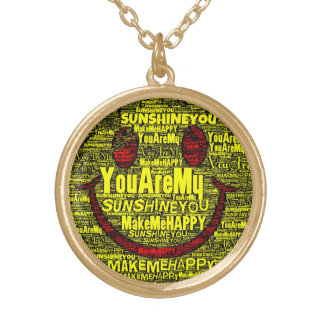 You Are My Sunshine Happy Necklace