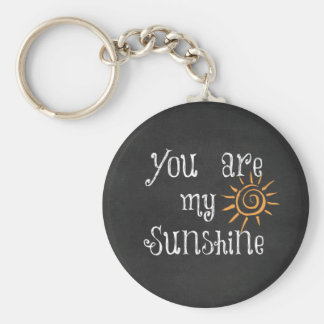 You are My Sunshine Keychain
