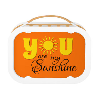 You are my sunshine lunchboxes