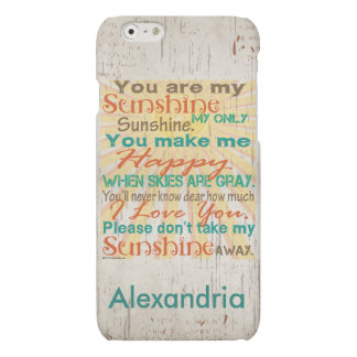 You are my Sunshine Orange/Teal/Cream Personalized