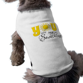You are my sunshine pet t-shirt