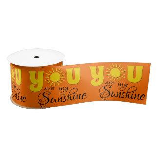 You are my sunshine satin ribbon
