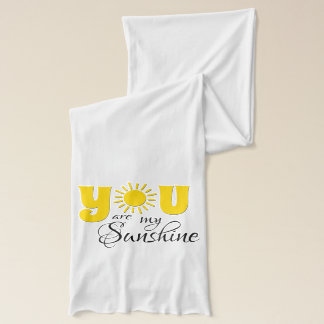You are my sunshine scarf