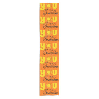 You are my sunshine short table runner