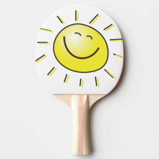 You are my Sunshine Smiley Face Ping Pong Paddle